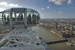 widok z London Eye