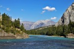 Banff National Park - okolice Bow Falls